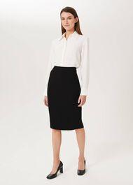 Alva Pencil Skirt, Black, hi-res