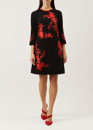 Sunny Dress, Black Paprika, hi-res