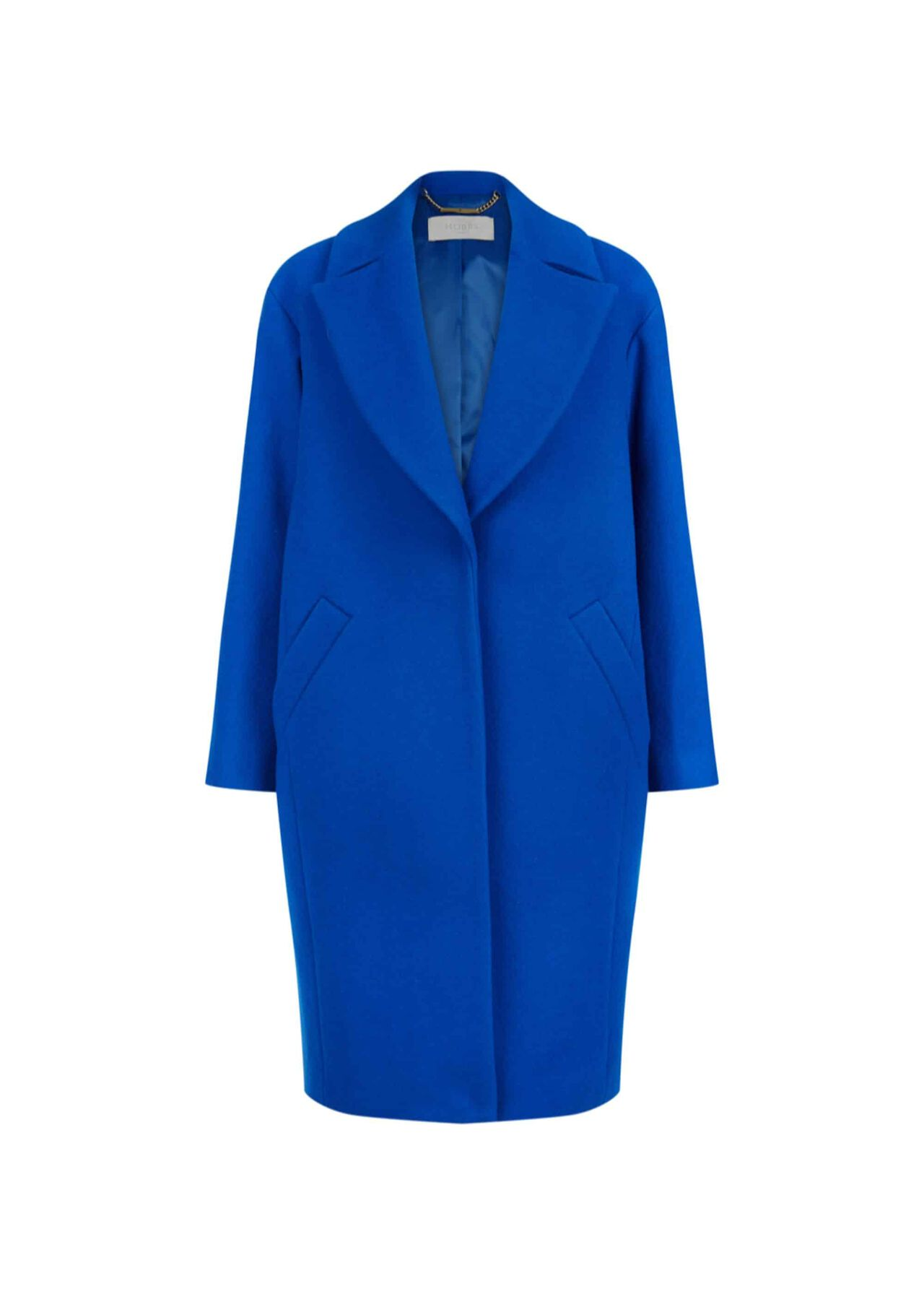 Jane Wool Blend Coat Cobalt