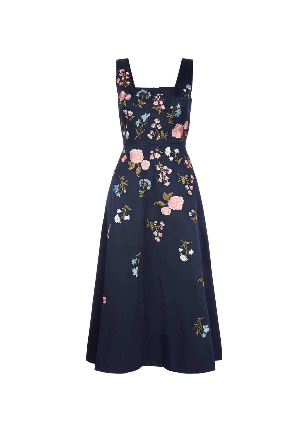 Victoria Posey Dress Navy