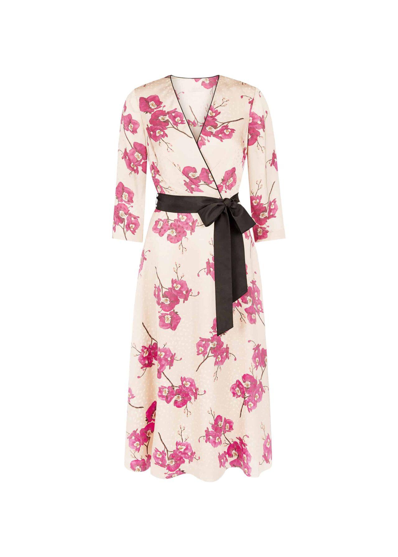 Nina Dress Quartz Cerise