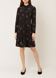 Sophie Dress, Black Ivory, hi-res