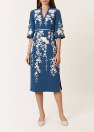 Siobhan Dress, Cambridge Blue, hi-res