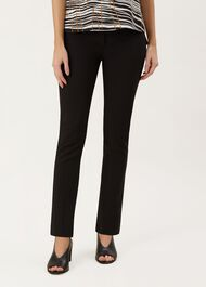 Annie Trouser With Stretch, Black, hi-res