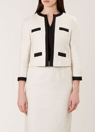 Alison Jacket, Neutral Black, hi-res