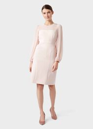 Mila Dress, Pale Pink, hi-res
