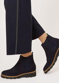 Bloomsbury Chelsea Boot, Navy, hi-res
