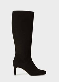 Lizzie Knee Boot, Black, hi-res