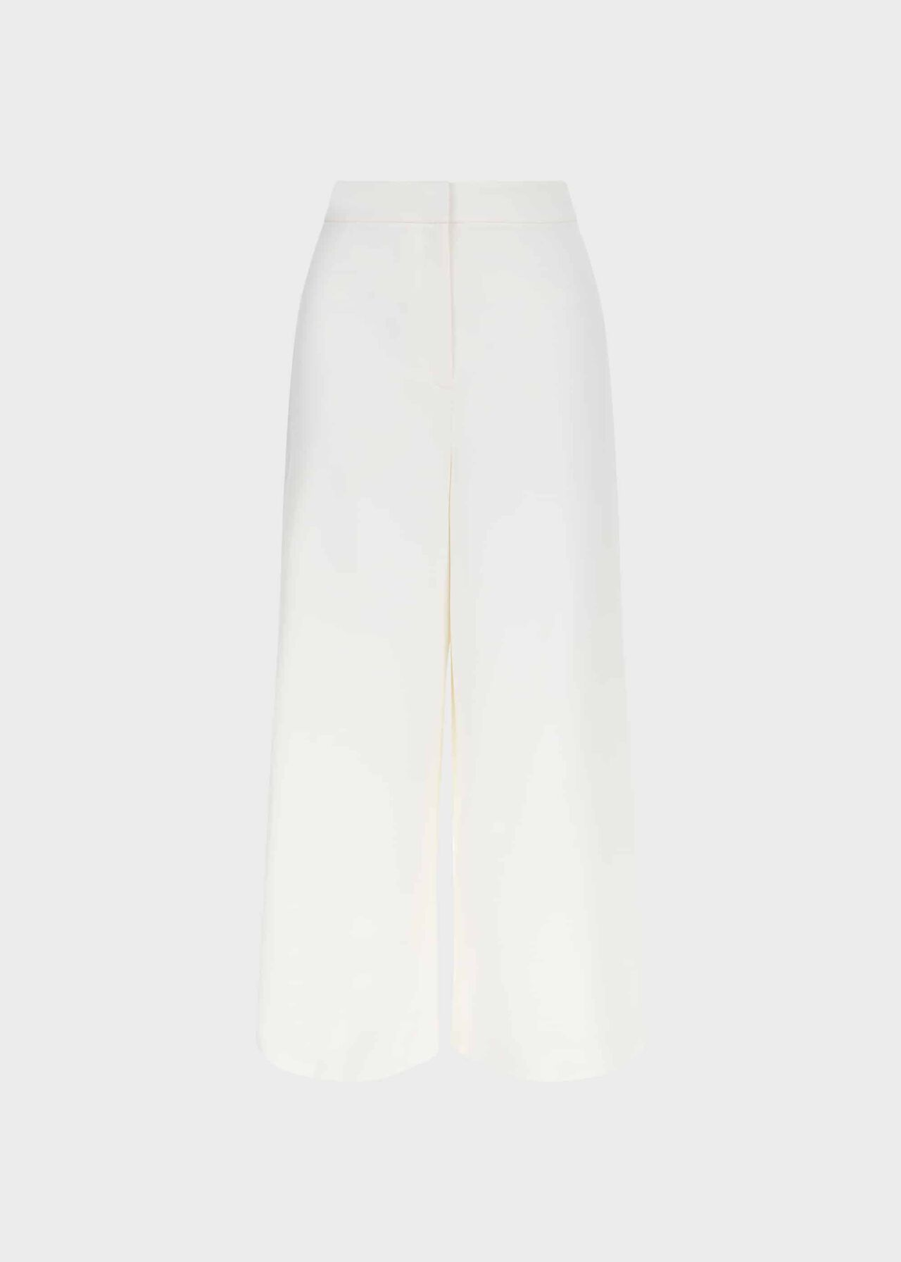 Louisa Cropped Trousers With Stretch Ivory