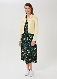 Mariam Jacket, Pale Yellow, hi-res