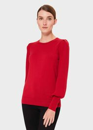 Harriet Sweater, Red, hi-res