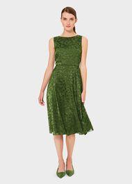 Adeline Dress, Fern Green, hi-res