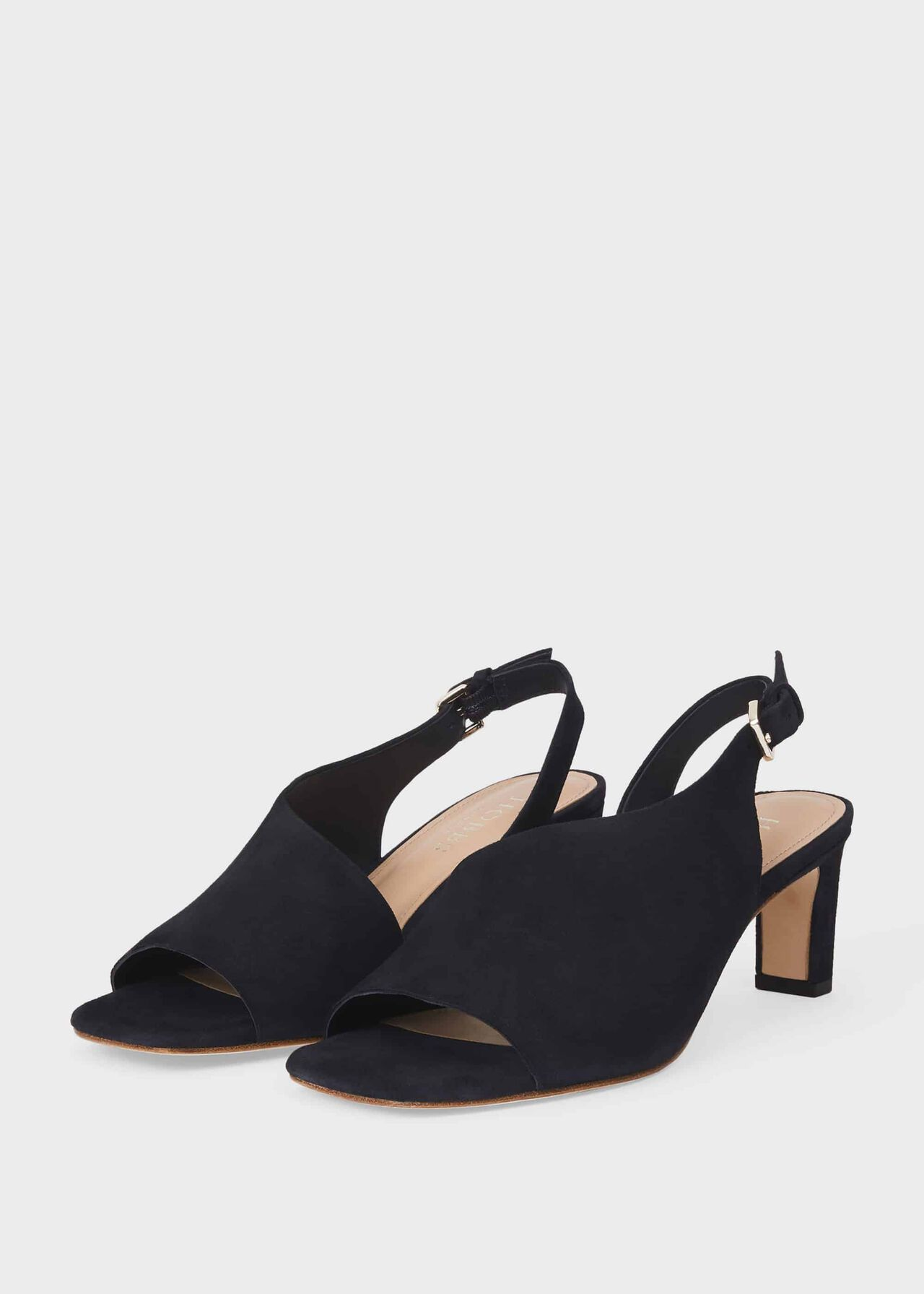 Kate Suede Sandals Navy