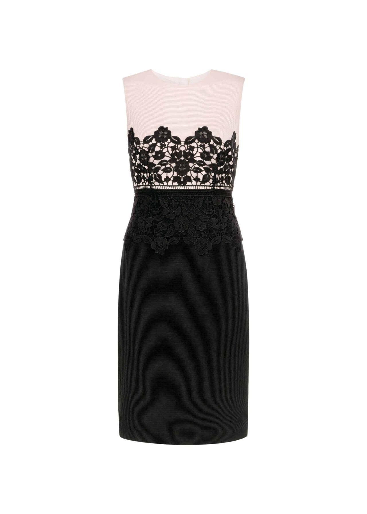 Seraphina Dress Pink Black