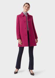 Fia Coat, Raspberry, hi-res