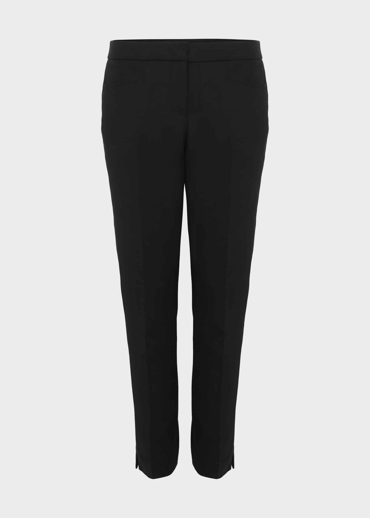 Hailey Slim Trousers With Stretch Black