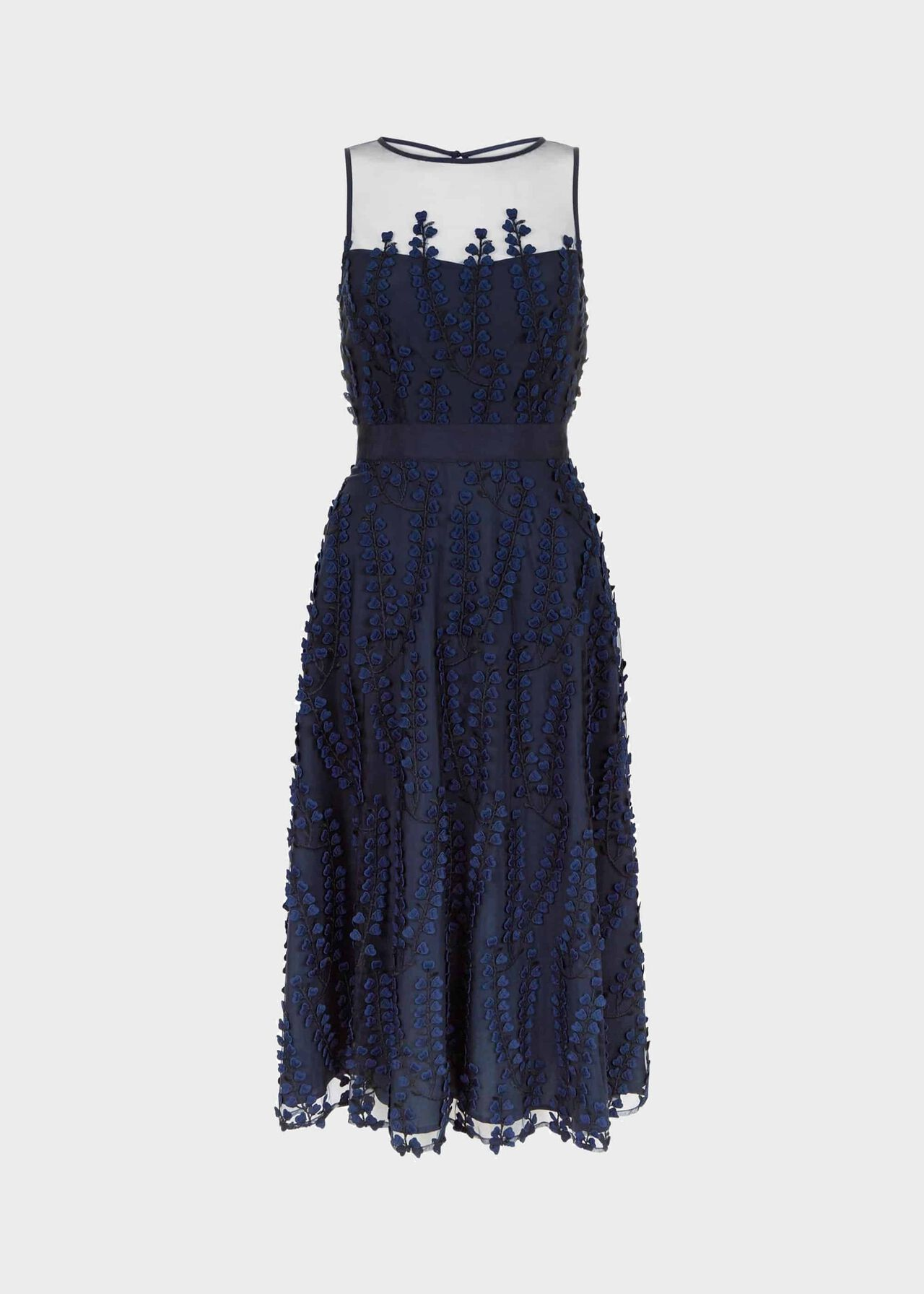 Felicity Dress Navy Multi