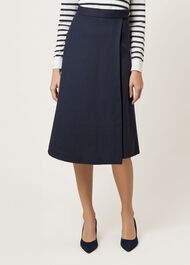 Julianna Skirt, Navy, hi-res