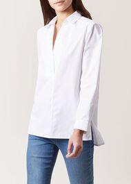 Jasmine Shirt, White, hi-res