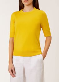 Paula Sweater, Yellow, hi-res