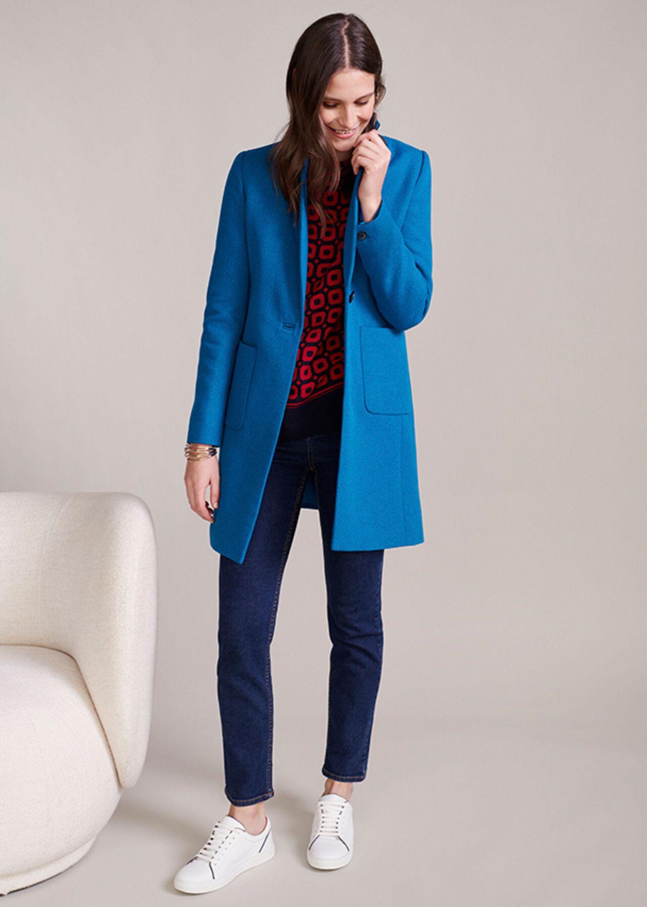 The Blue Corina Coat Outfit, , hi-res