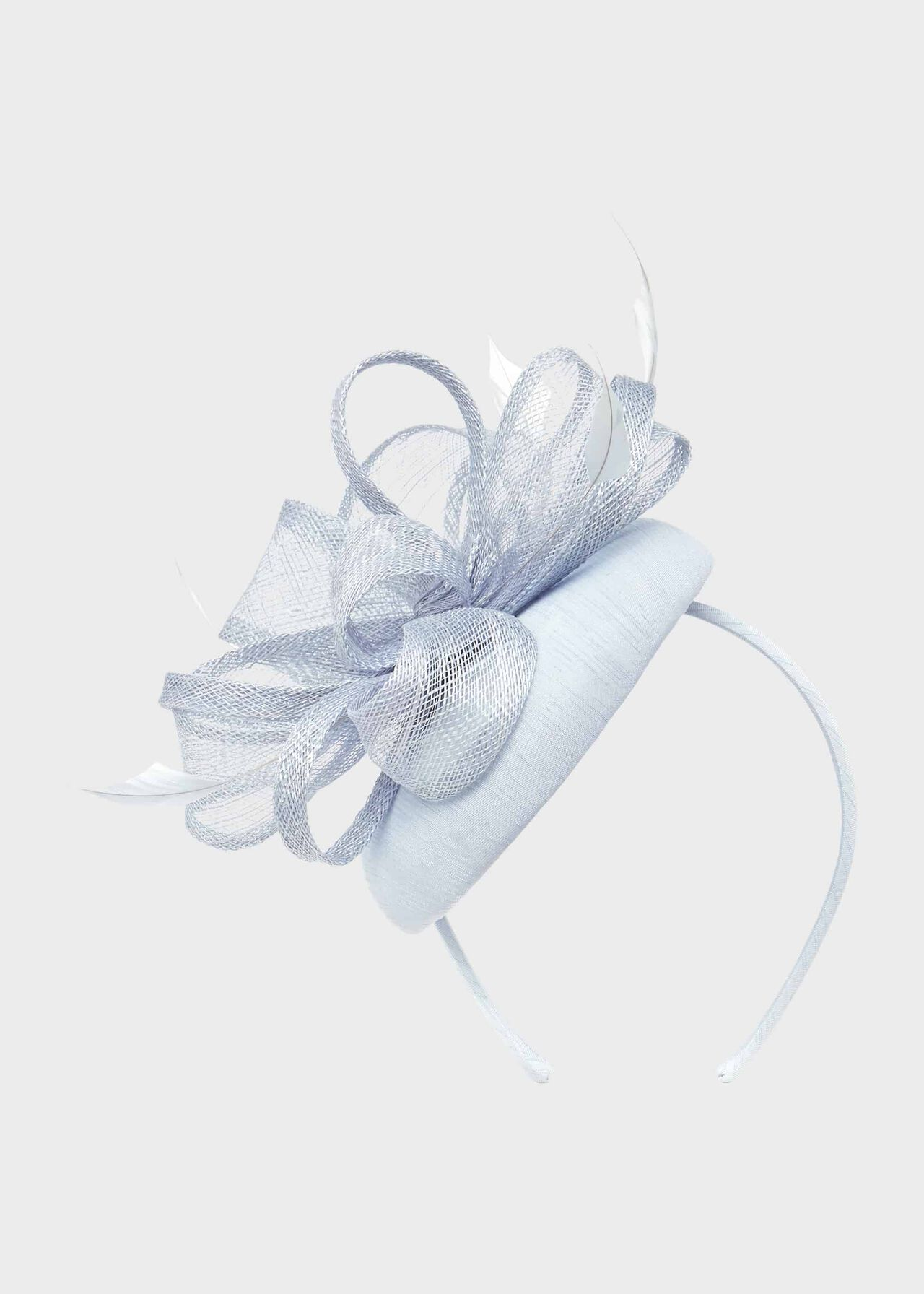 Sloan Fascinator Celeste Blue
