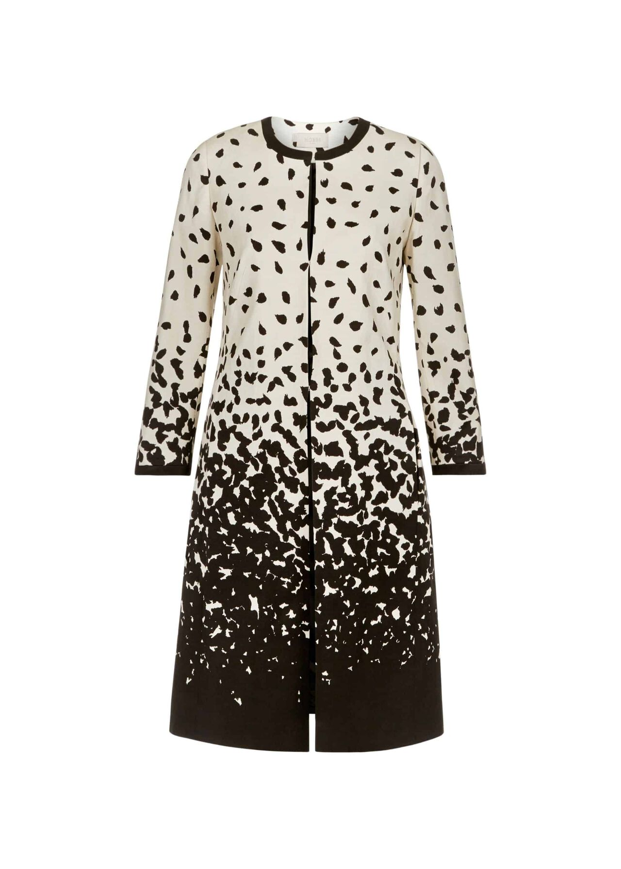Arabella Coat Ivory Multi