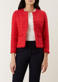 Kathleen Jacket, Raspberry Red, hi-res
