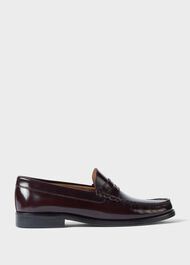 Bailey Leather  Loafers, Wine, hi-res