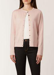 Rosie Cardigan, Pale Pink, hi-res