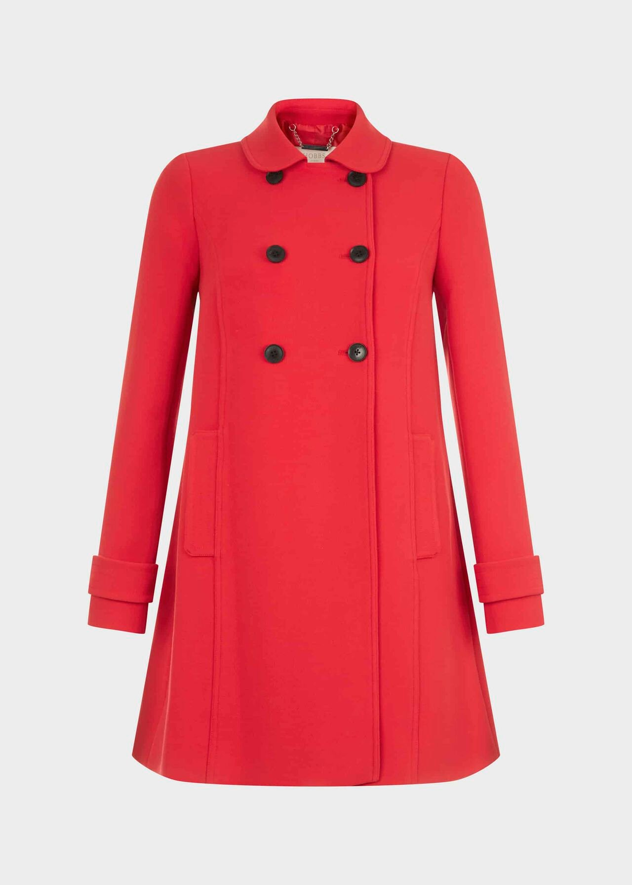 Adrienne Coat Red