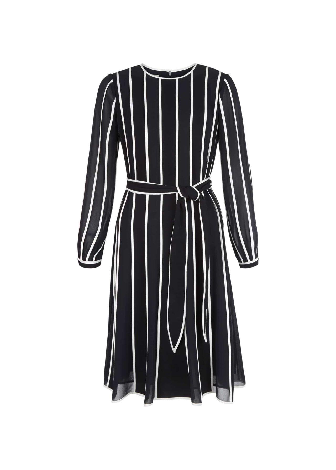 Rosemond Dress Midnight Ivory