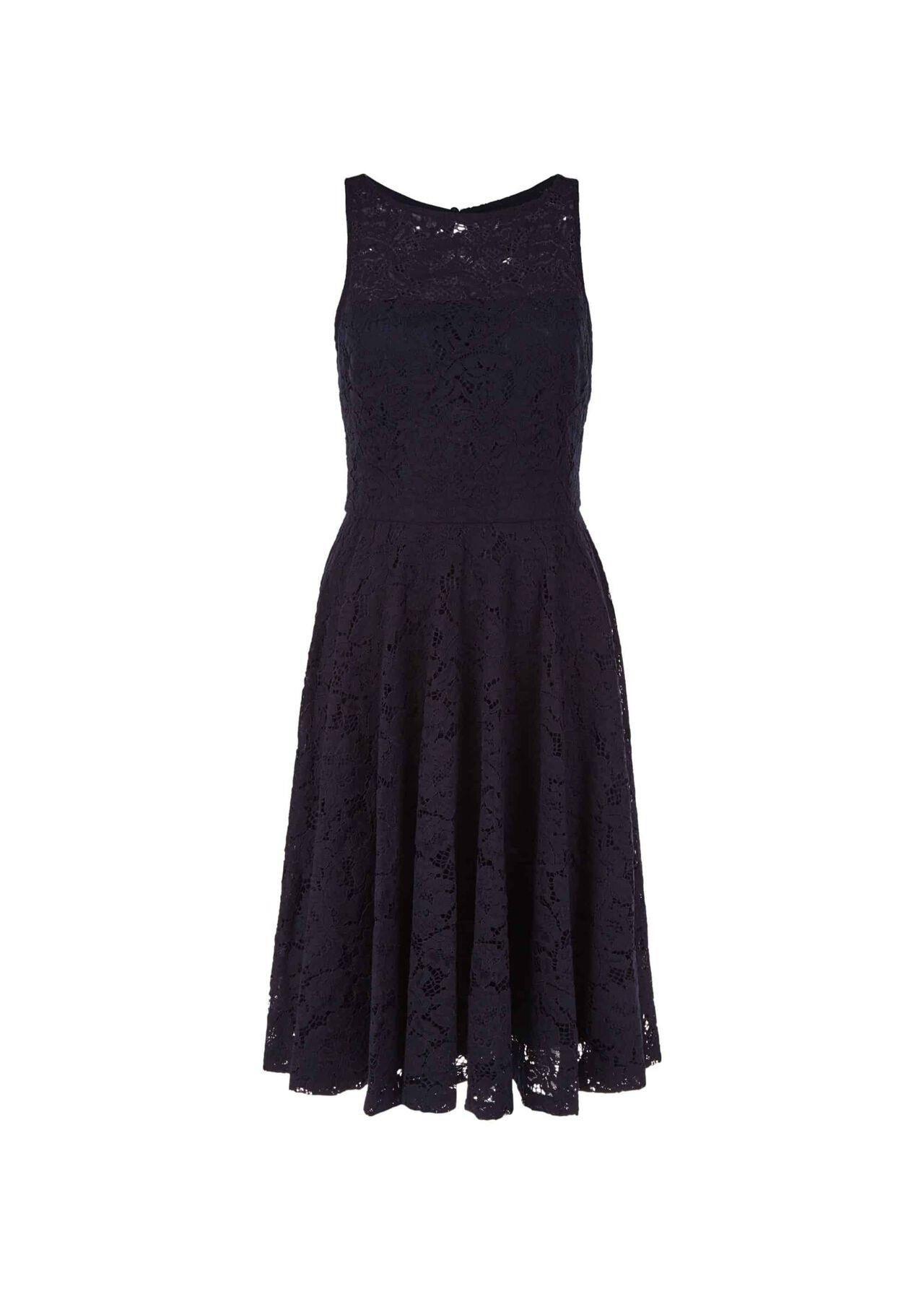 Ashling Lace Dress Midnight