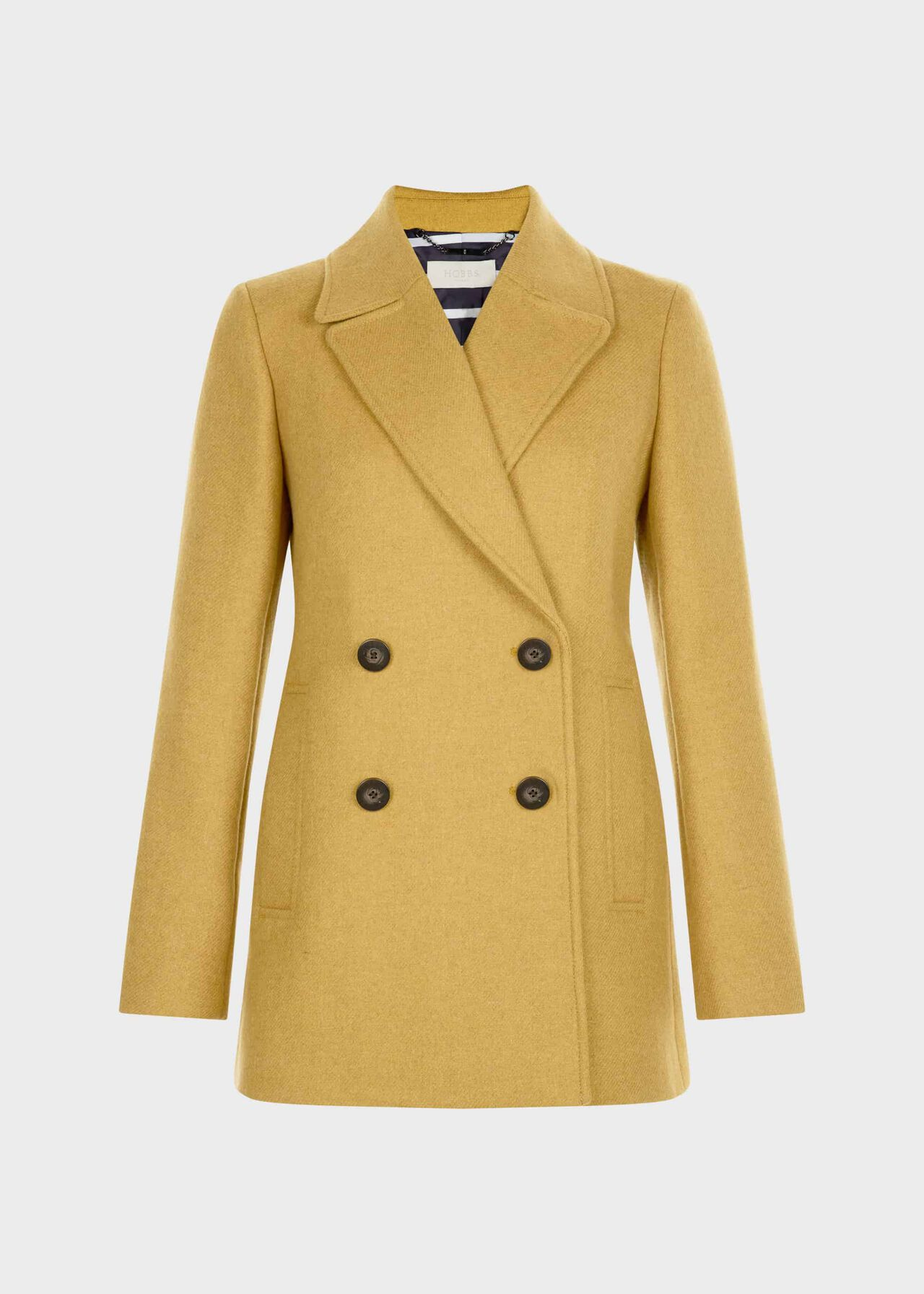 Fran Coat Yellow