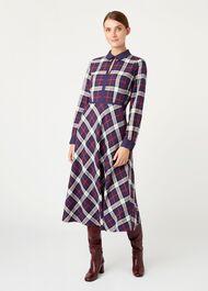 Stella Dress, Navy Multi, hi-res