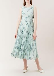 Celeste Dress, Mint Multi, hi-res