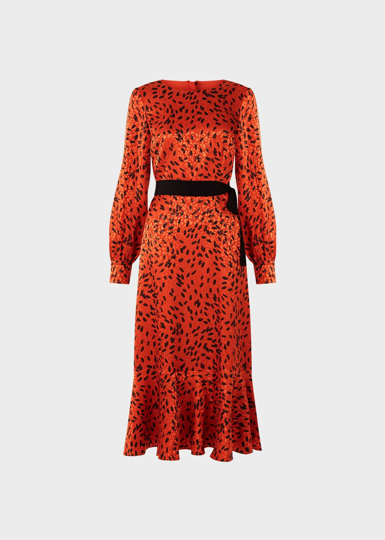 Isla Dress Burnt Orange