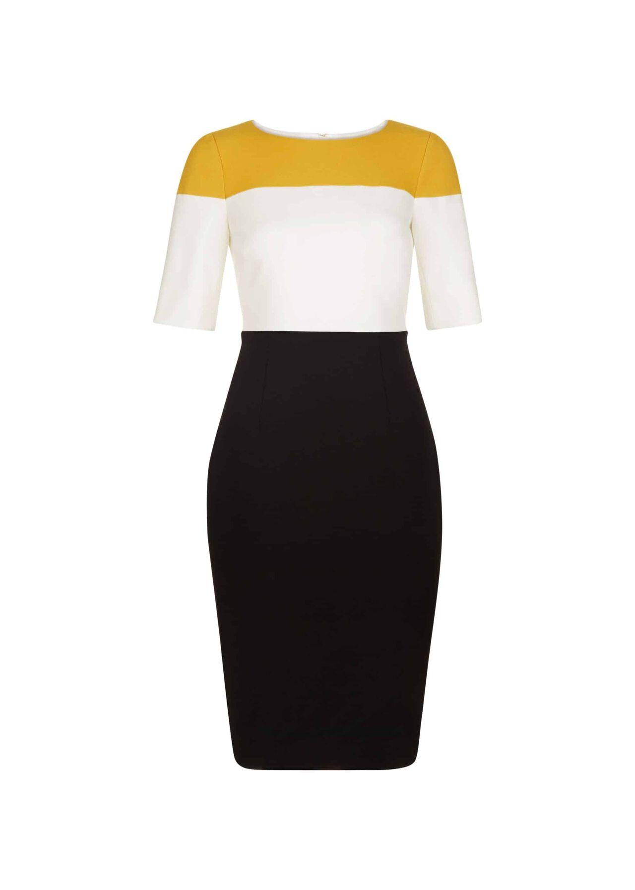 Marietta Dress Black Multi