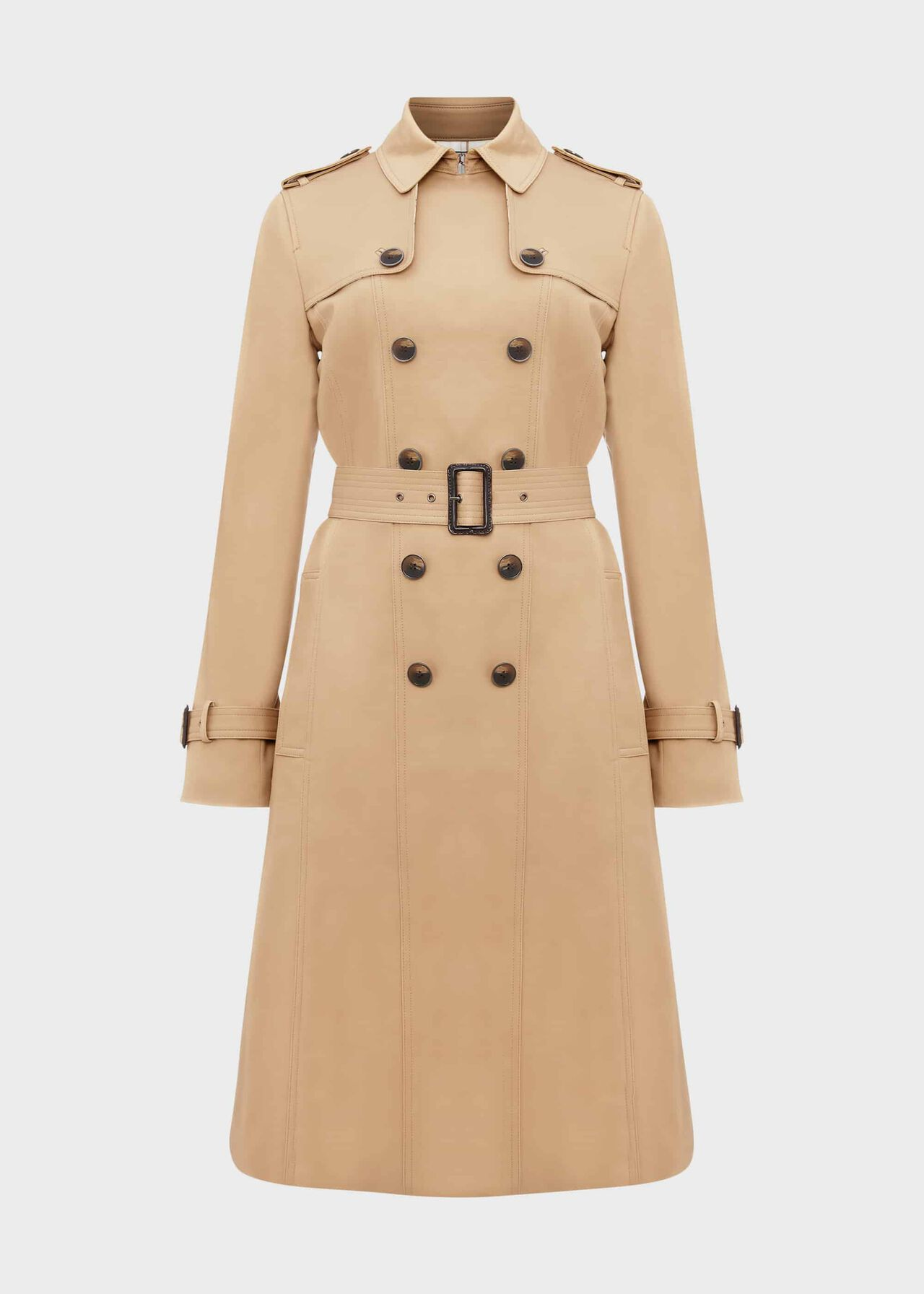 Sofia Trench Coat Mocha