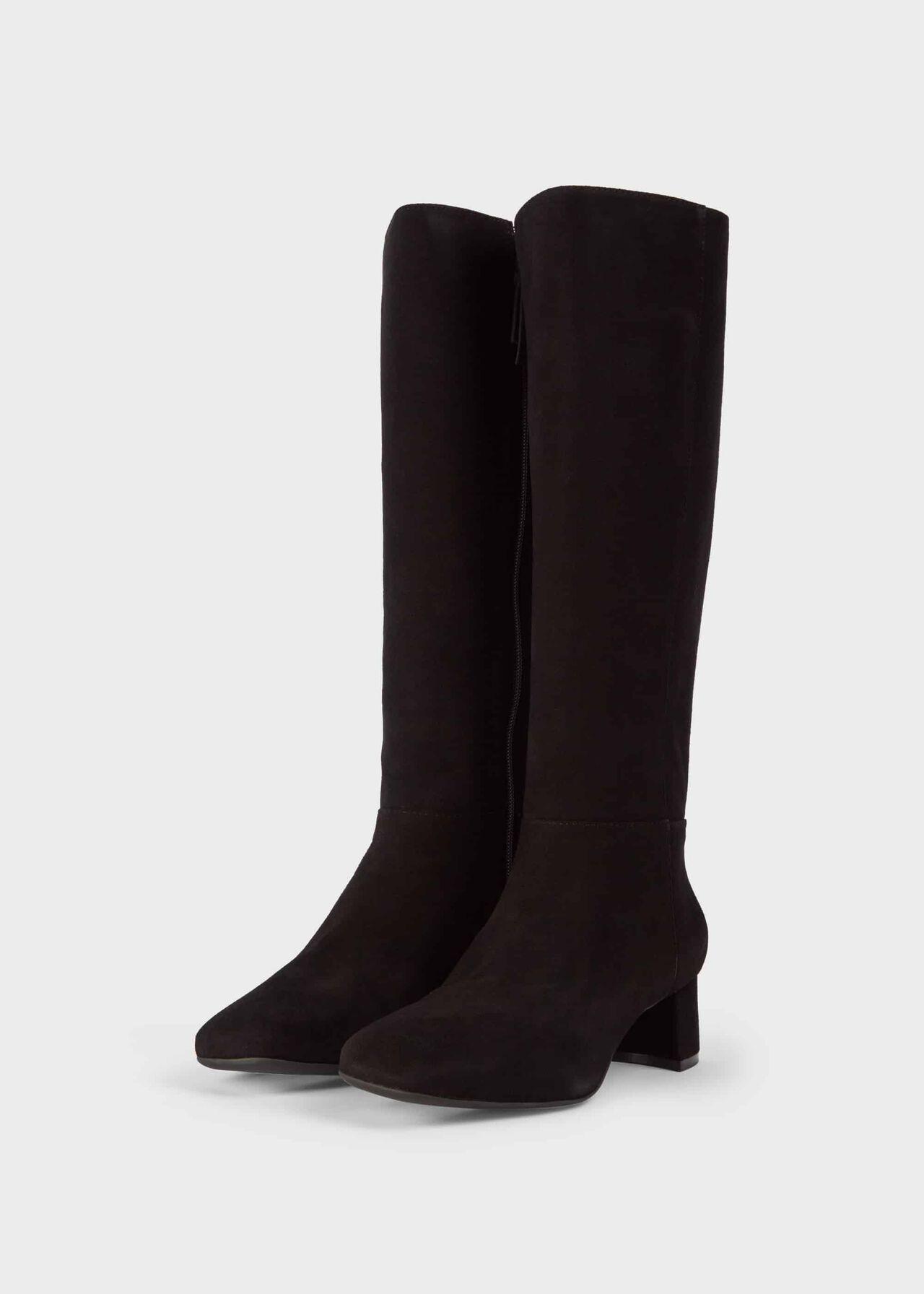 Hailey Flexi Knee Boot Black