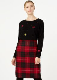 Gabrielle Sweater, Black Multi, hi-res