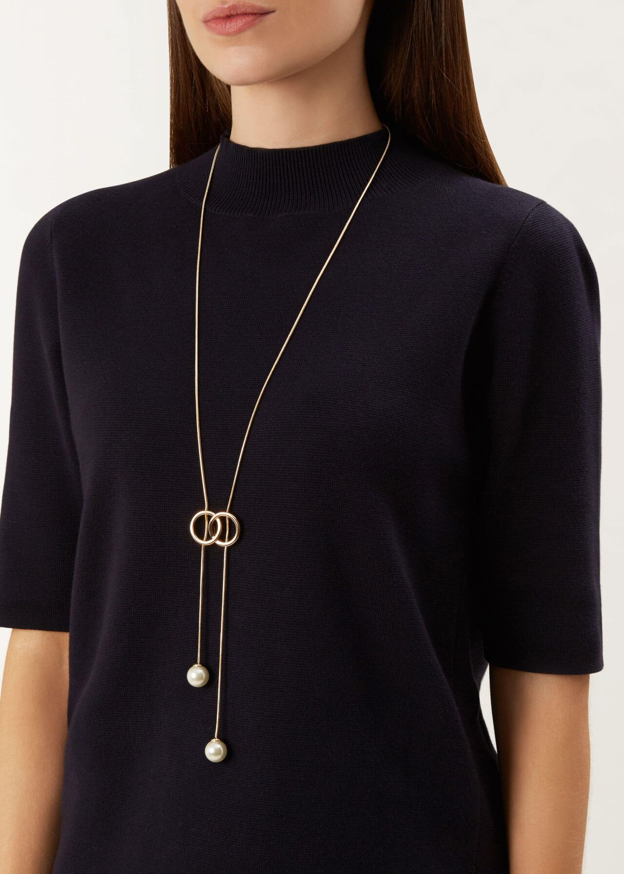 Robyn Necklace, Gold, hi-res