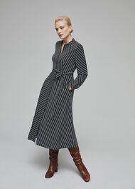 Tarini Dress, Navy Ivory, hi-res