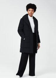 Winnie Puffer Jacket, Black, hi-res