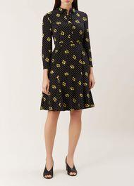 Emberly Dress, Black Mimosa, hi-res