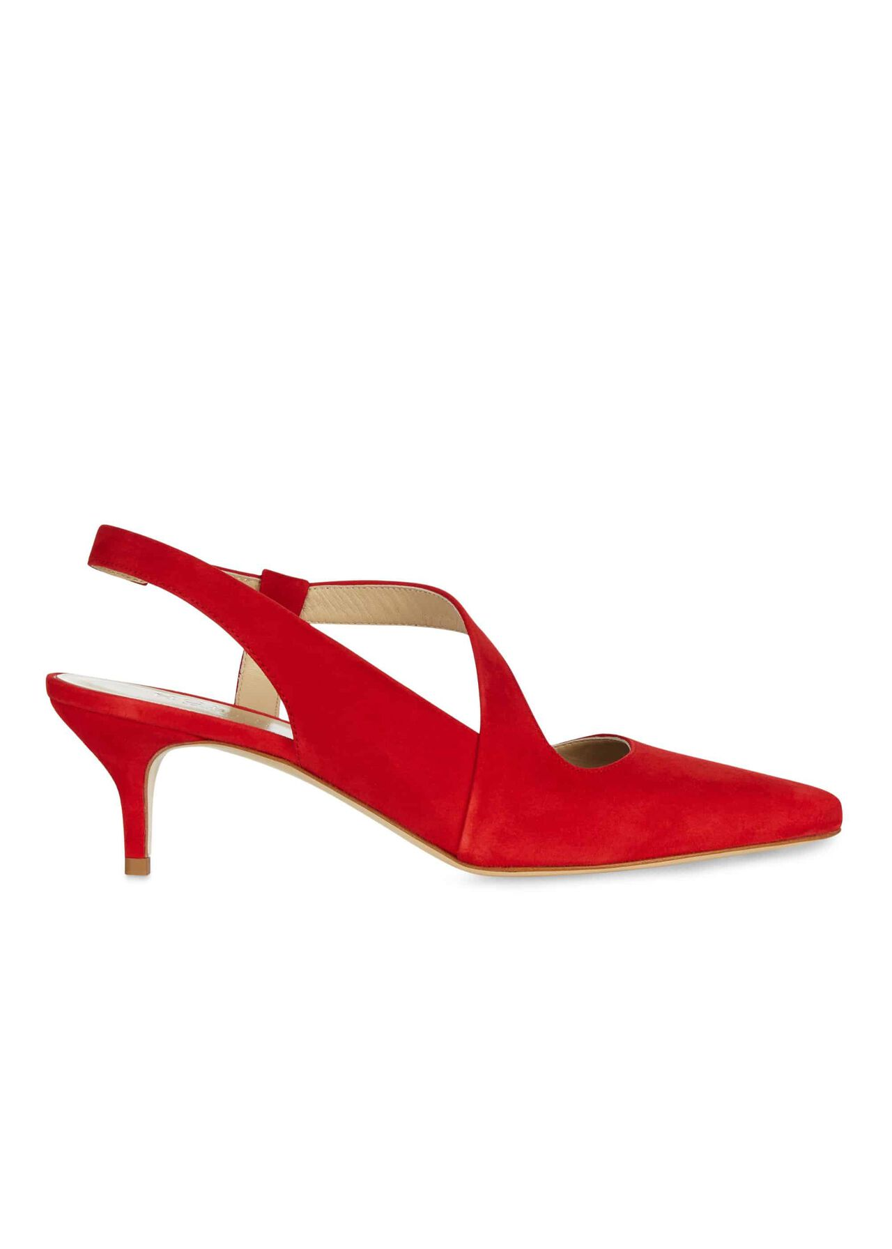 Amy Slingback Chilli Red