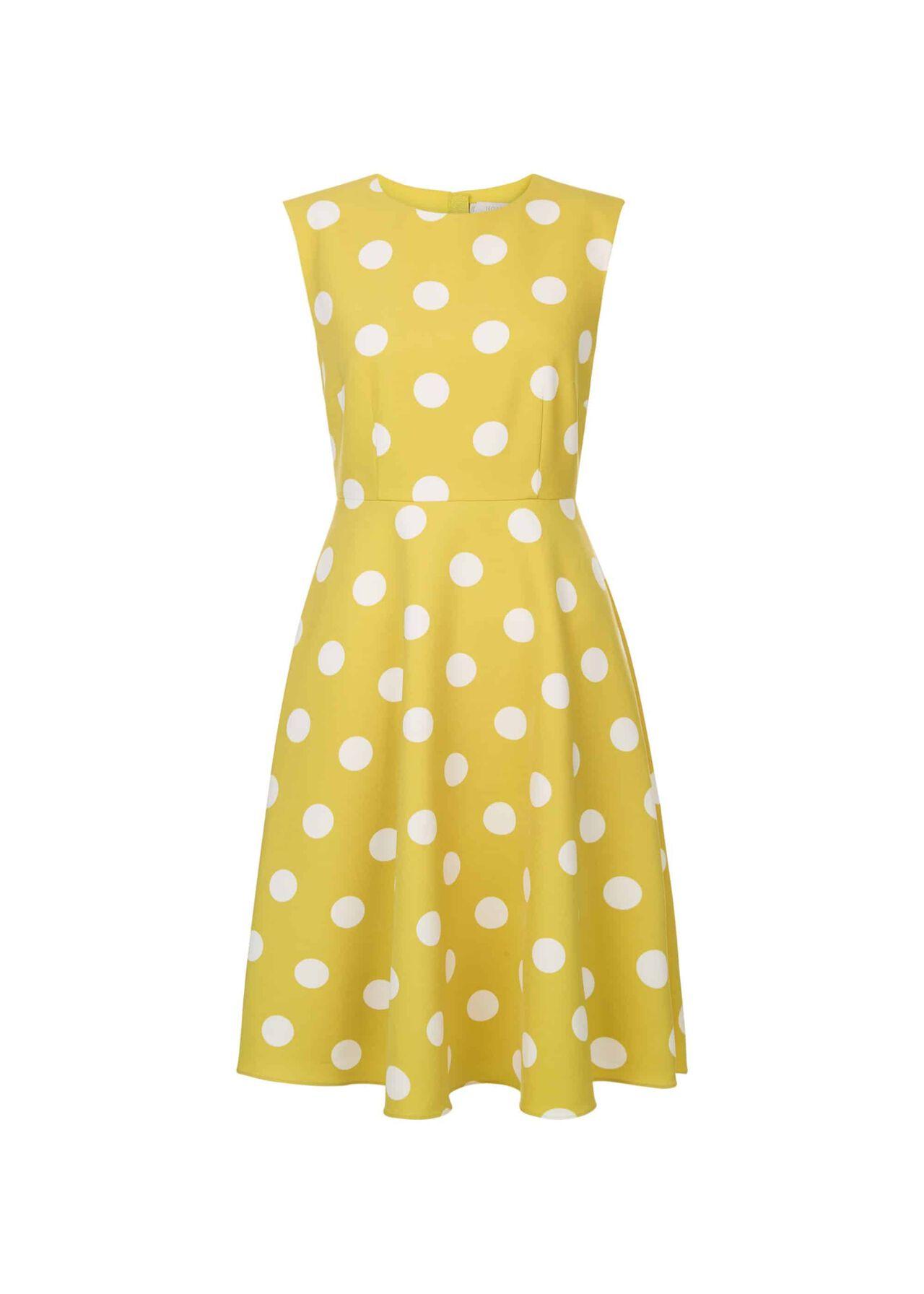 Kara Dress Citrine Ivory