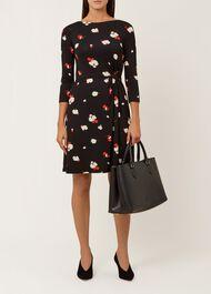 Skye Dress, Black Red, hi-res