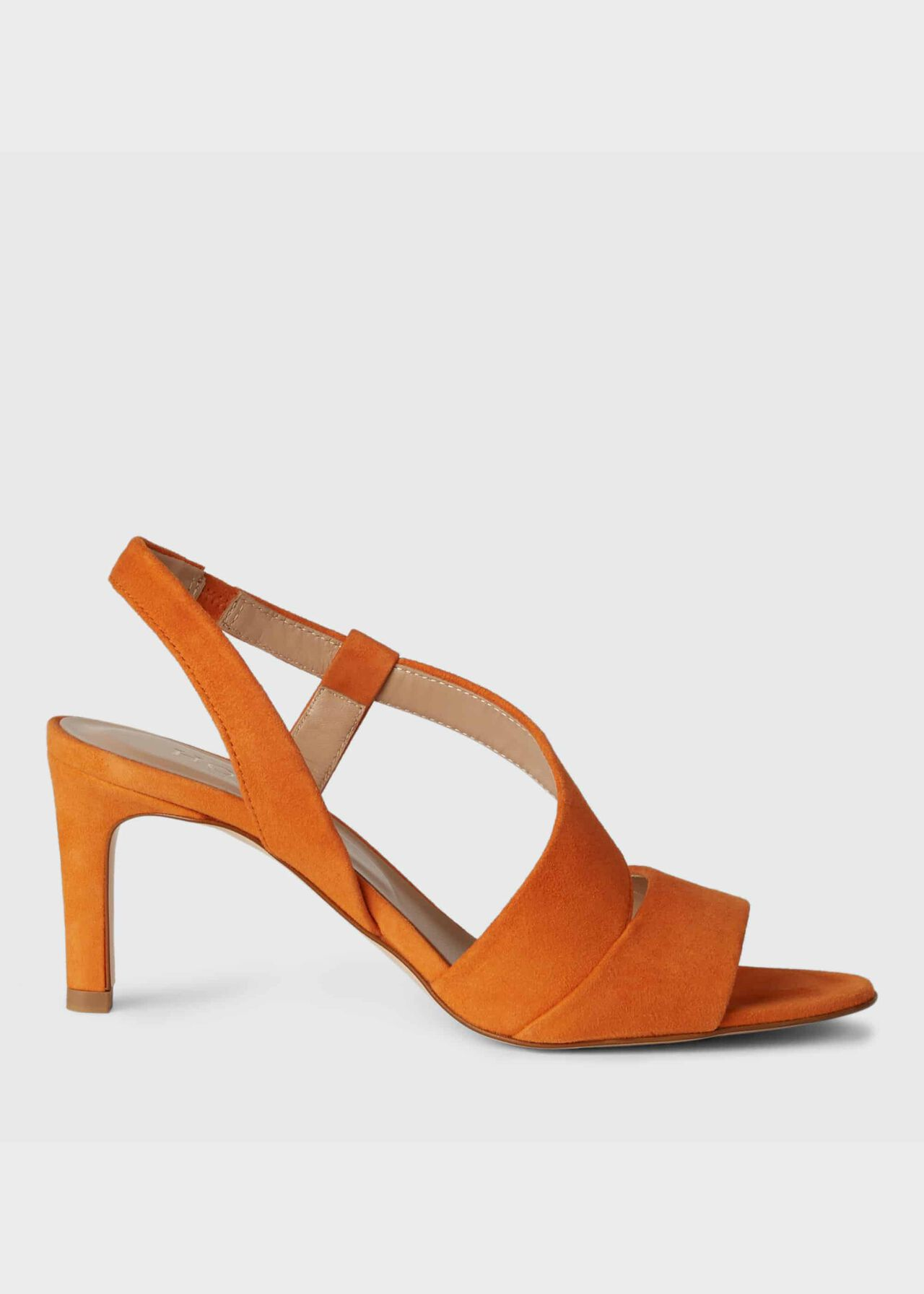 Leah Sandal Sunset Orange