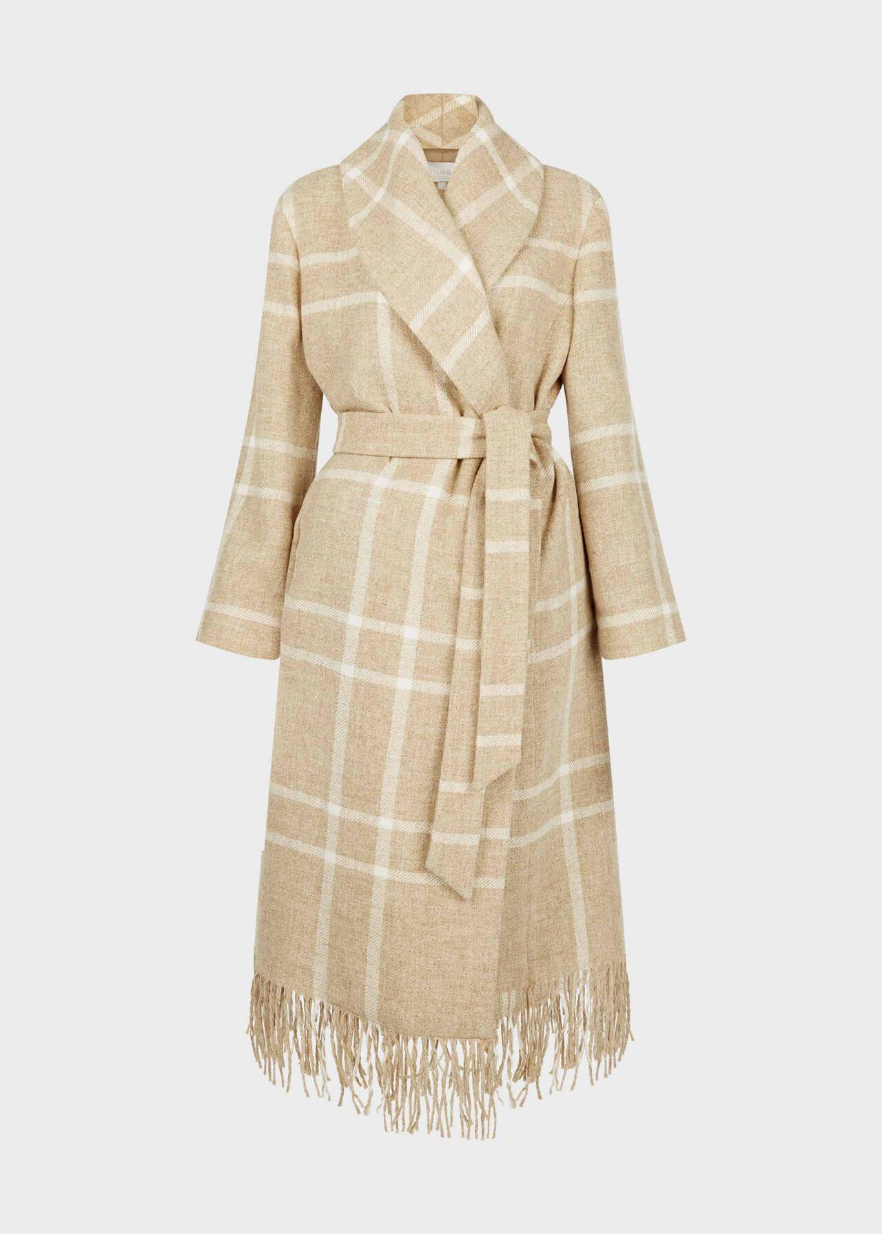 Rosa Wool Coat Camel Ivory